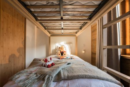 Rent in ski resort Résidence Les Portes de Megève - Praz sur Arly - Bunk beds