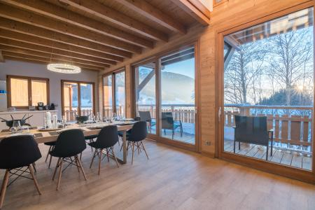 Rent in ski resort Résidence Les Portes de Megève - Praz sur Arly - Dining area