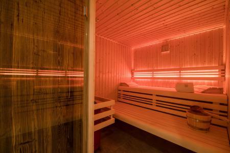 Rent in ski resort Résidence Les Portes de Megève - Praz sur Arly - Sauna