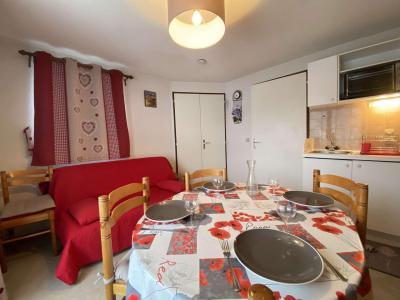 Аренда на лыжном курорте Апартаменты 2 комнат 4 чел. (A07) - Résidence Praz les Pistes - Praz sur Arly - Салон