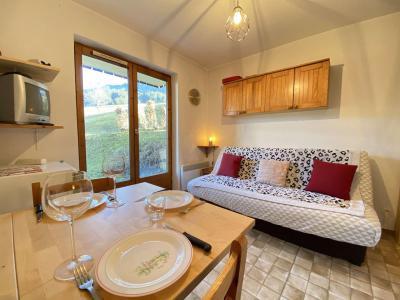 Аренда на лыжном курорте Квартира студия со спальней для 4 чел. (009) - Résidence Praz les Pistes - Praz sur Arly - Салон