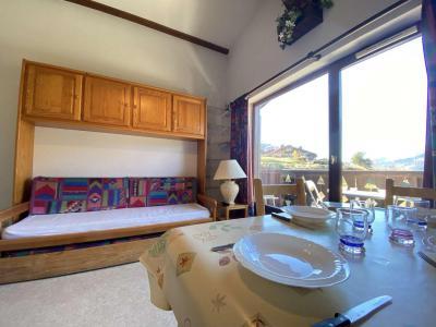 Аренда на лыжном курорте Квартира студия со спальней для 5 чел. (A19) - Résidence Praz les Pistes - Praz sur Arly - Салон