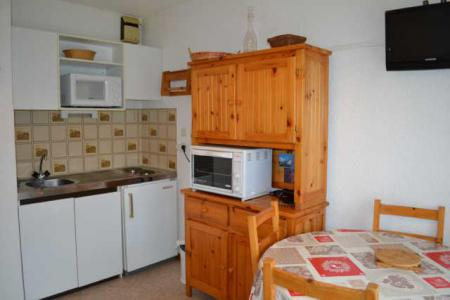 Rent in ski resort Studio cabin 4 people (PVB043) - Résidence Praz Village - Praz sur Arly
