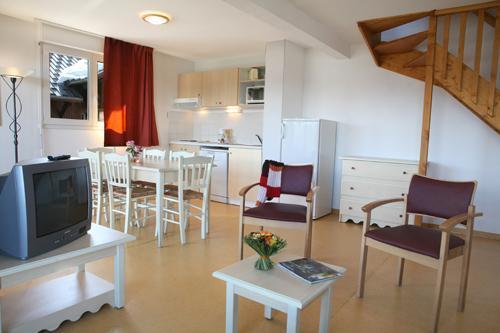 Location au ski Appartement 3 pièces 6 personnes - Les Chalets Puy Saint Vincent - Puy-Saint-Vincent - Séjour