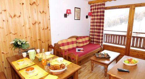 Location au ski Residence La Dame Blanche - Puy-Saint-Vincent - Table