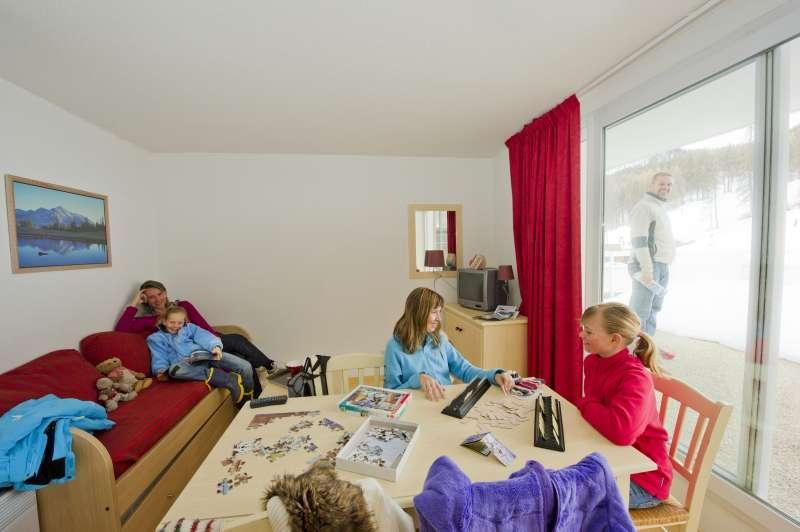 Location au ski Residence Sun Vallee - Puy-Saint-Vincent - Coin séjour