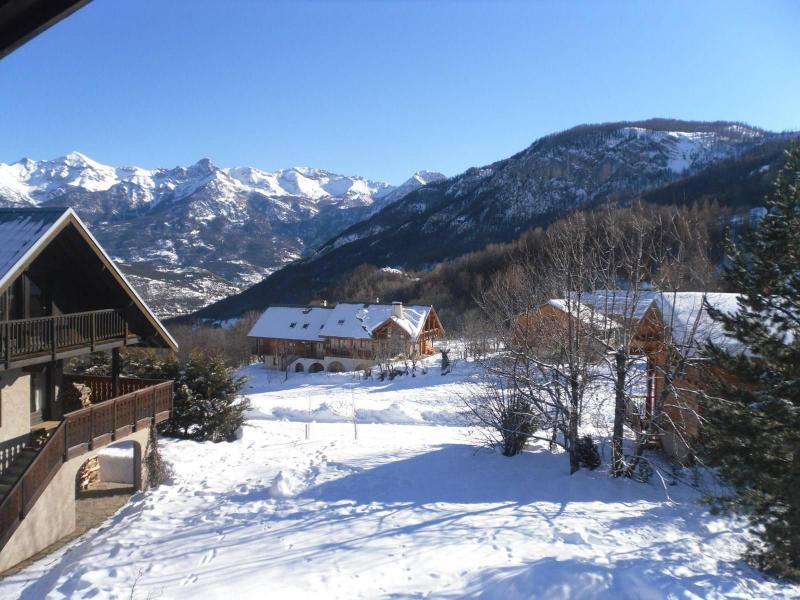 Vacances en montagne Chalet 5 pièces 8 personnes (PSV010-001) - Chalet de montagne - Puy-Saint-Vincent - Extérieur hiver