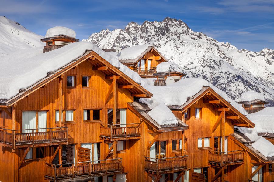 Location au ski La Résidence Hameau des Ecrins - Puy-Saint-Vincent - Extérieur hiver