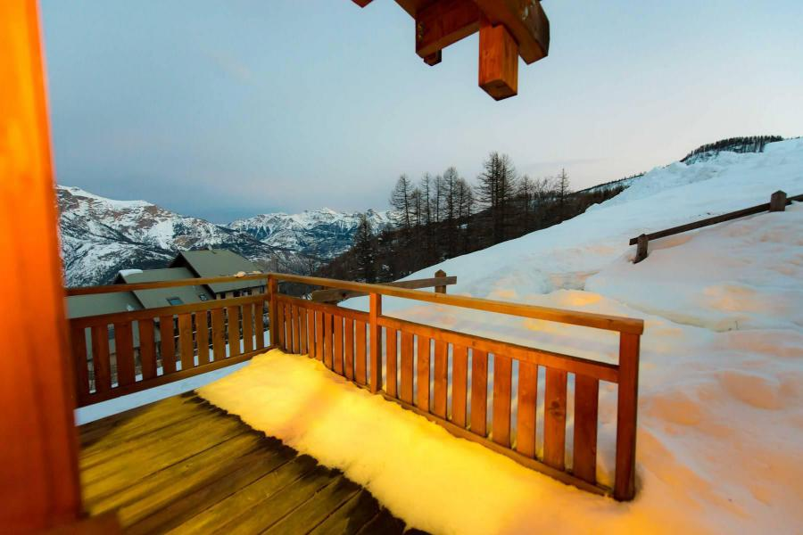 Location au ski Appartement 3 pièces coin montagne 8 personnes (C102) - La Résidence le Hameau des Ecrins - Puy-Saint-Vincent