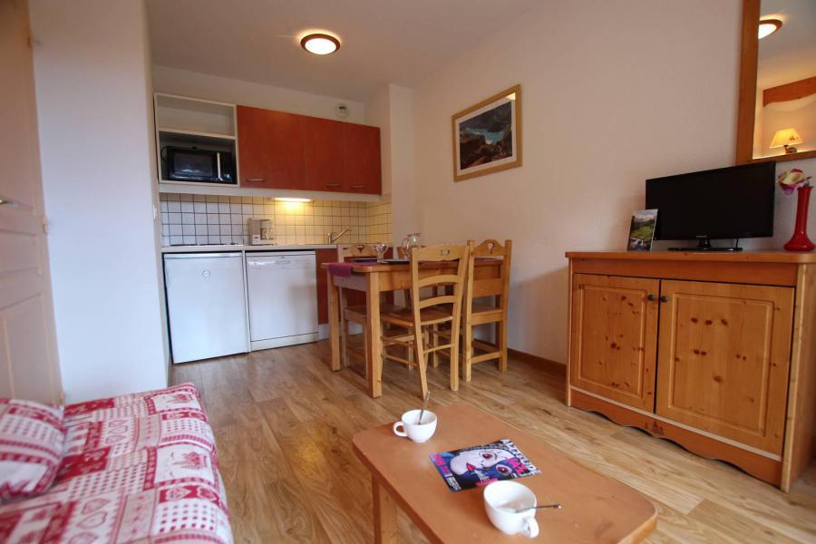 Location au ski Appartement 1 pièces 4 personnes (A303) - La Résidence le Hameau des Ecrins - Puy-Saint-Vincent - Chambre