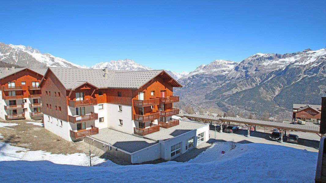 Location au ski Appartement 2 pièces 4 personnes (C27) - Résidence Gentianes - Puy-Saint-Vincent - Extérieur hiver