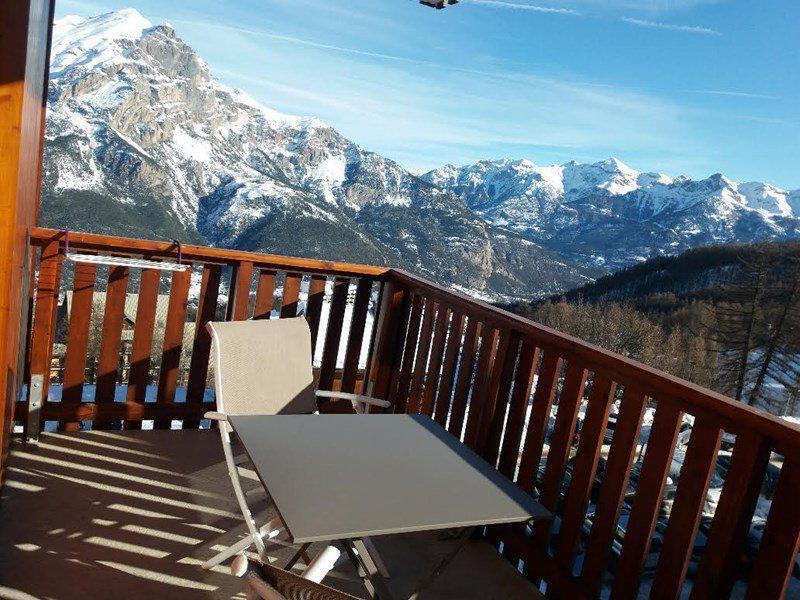 Wakacje w górach Apartament 3 pokojowy 6 osób (D26) - Résidence Gentianes - Puy-Saint-Vincent - Zima na zewnątrz