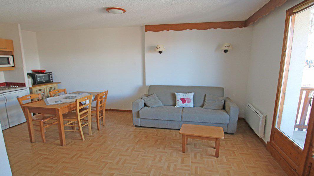 Location au ski Appartement 2 pièces 4 personnes (C27) - Résidence Gentianes - Puy-Saint-Vincent - Séjour
