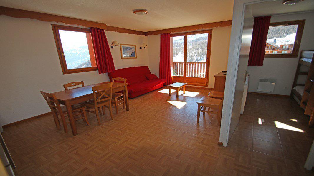 Location au ski Appartement 3 pièces 6 personnes (C32) - Résidence Gentianes - Puy-Saint-Vincent - Séjour