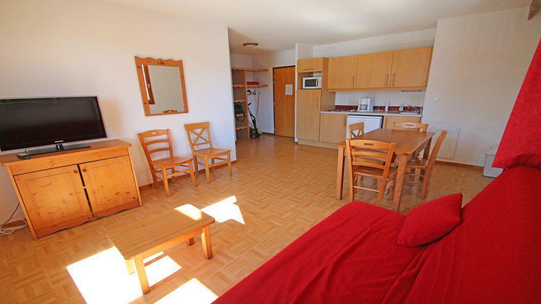 Location au ski Appartement 3 pièces 6 personnes (C32) - Résidence Gentianes - Puy-Saint-Vincent - Table