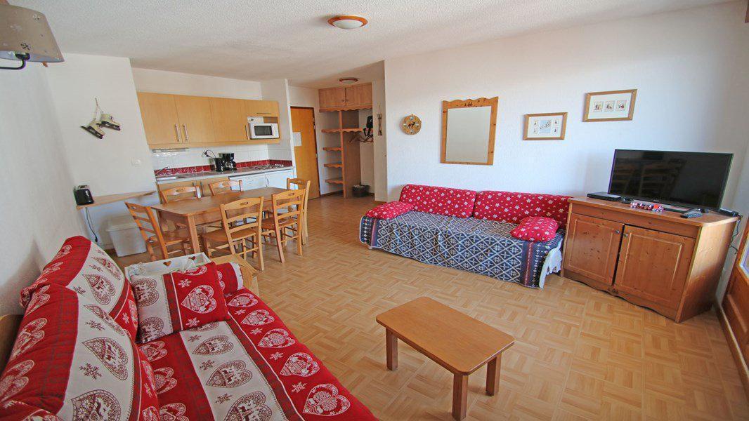 Location au ski Appartement 3 pièces 6 personnes (C35) - Résidence Gentianes - Puy-Saint-Vincent - Séjour