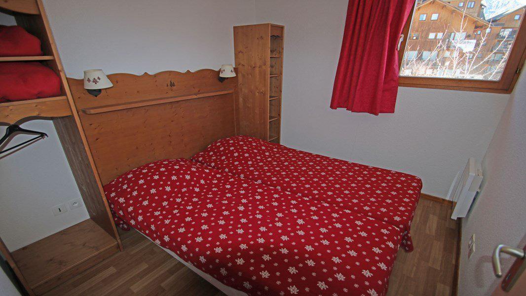 Location au ski Appartement 4 pièces 6 personnes (112) - Résidence Hameau des Ecrins - Puy-Saint-Vincent - Chambre