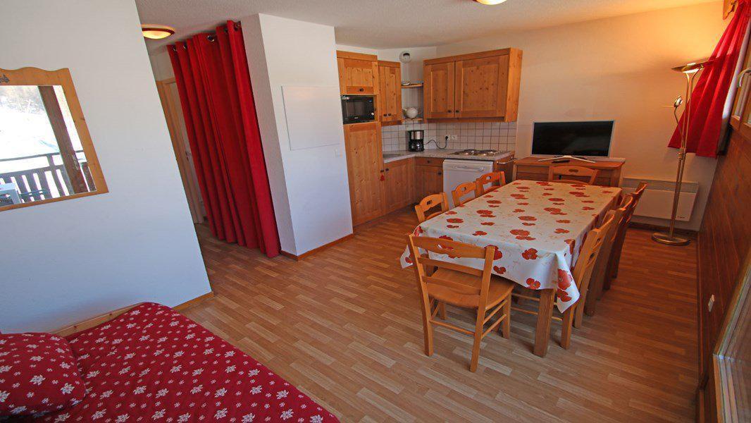 Location au ski Appartement 4 pièces 6 personnes (112) - Résidence Hameau des Ecrins - Puy-Saint-Vincent - Séjour