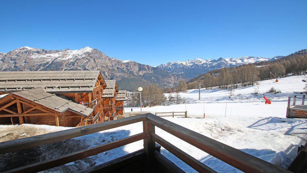 Location au ski Appartement 3 pièces 6 personnes (004) - Résidence La Dame Blanche - Puy-Saint-Vincent - Extérieur hiver