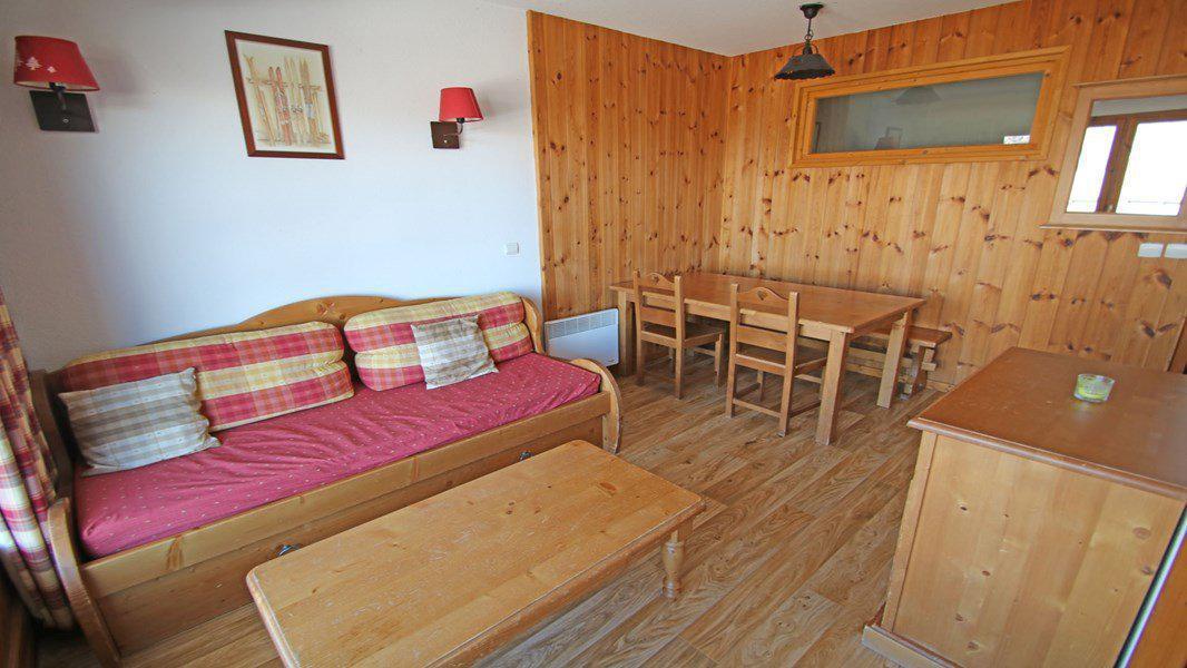 Location au ski Appartement 3 pièces 6 personnes (004) - Résidence La Dame Blanche - Puy-Saint-Vincent - Séjour
