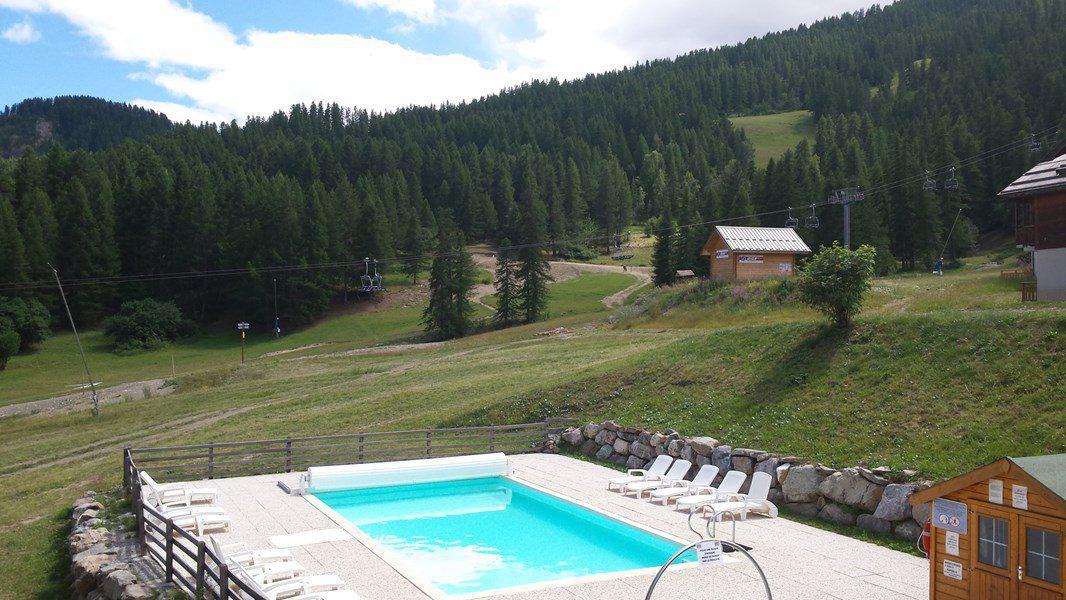 Location au ski Appartement 3 pièces 6 personnes (122) - Résidence La Dame Blanche - Puy-Saint-Vincent - Piscine