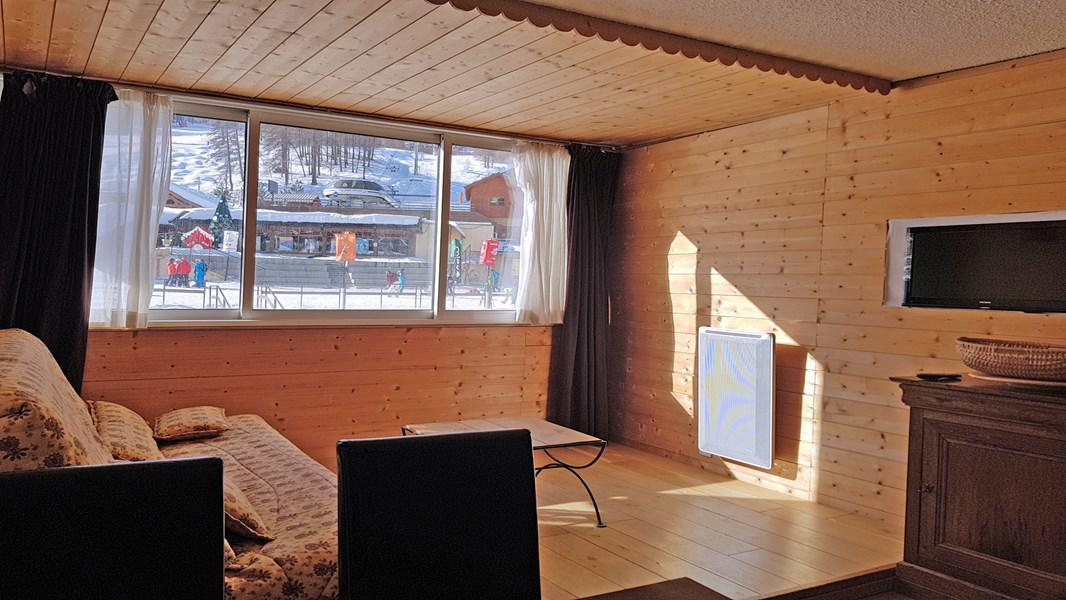 Rent in ski resort 2 room apartment 5 people (102) - Résidence le Podium - Puy-Saint-Vincent