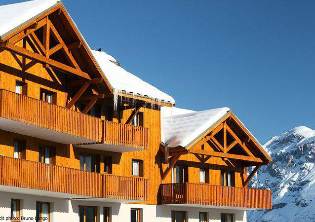 Location au ski Résidence Les Gentianes - Puy-Saint-Vincent - Extérieur hiver