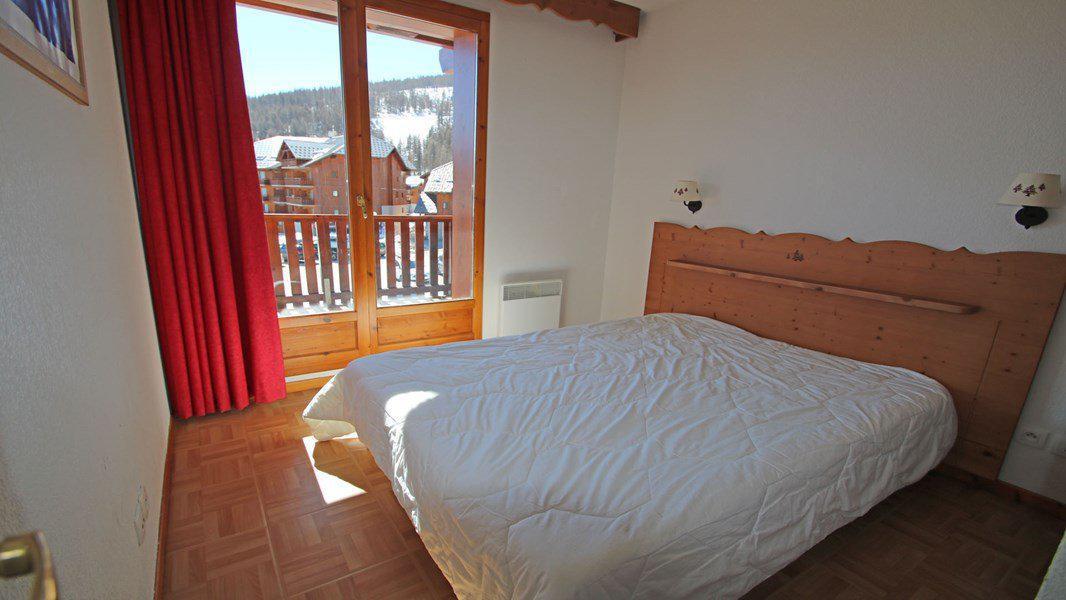Location au ski Appartement 3 pièces 6 personnes (C32) - Résidence Les Gentianes - Puy-Saint-Vincent - Chambre