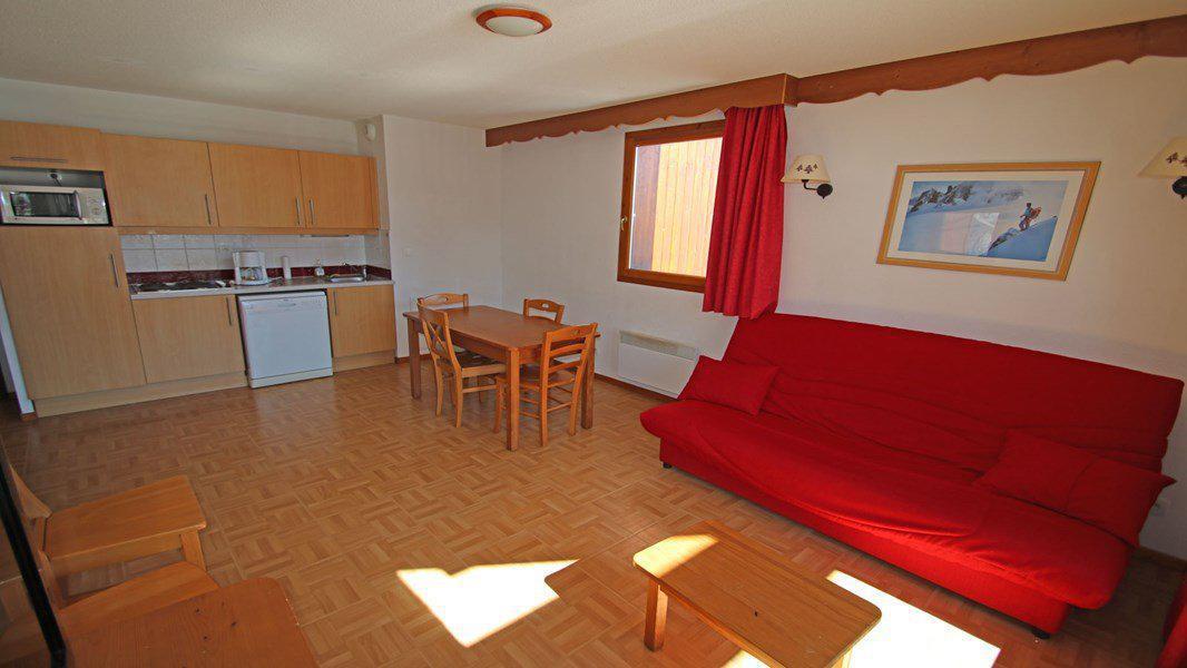 Location au ski Appartement 3 pièces 6 personnes (C32) - Résidence Les Gentianes - Puy-Saint-Vincent - Séjour