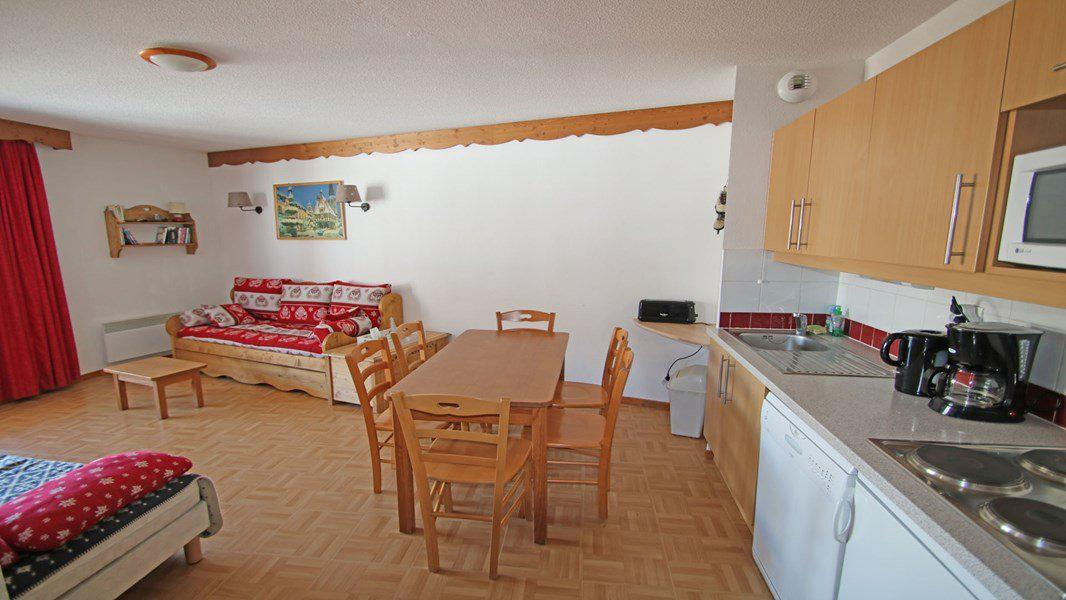 Location au ski Appartement 3 pièces 6 personnes (C35) - Résidence Les Gentianes - Puy-Saint-Vincent - Séjour