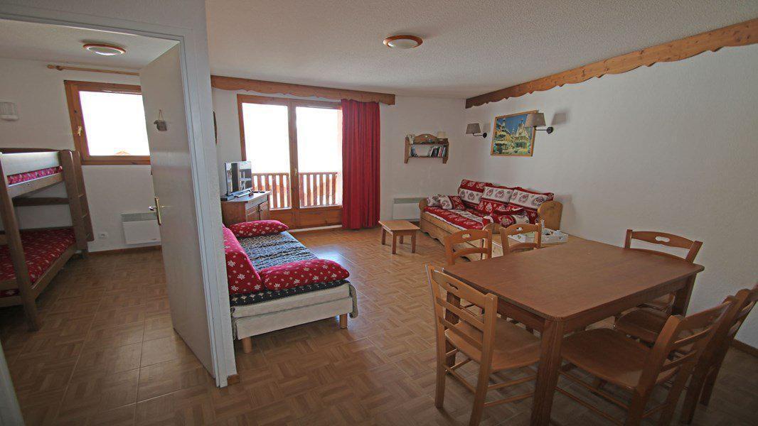 Location au ski Appartement 3 pièces 6 personnes (C35) - Résidence Les Gentianes - Puy-Saint-Vincent - Table