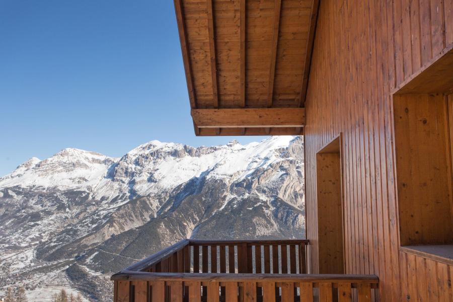 Location au ski Résidence les Gentianes - Puy-Saint-Vincent - Balcon