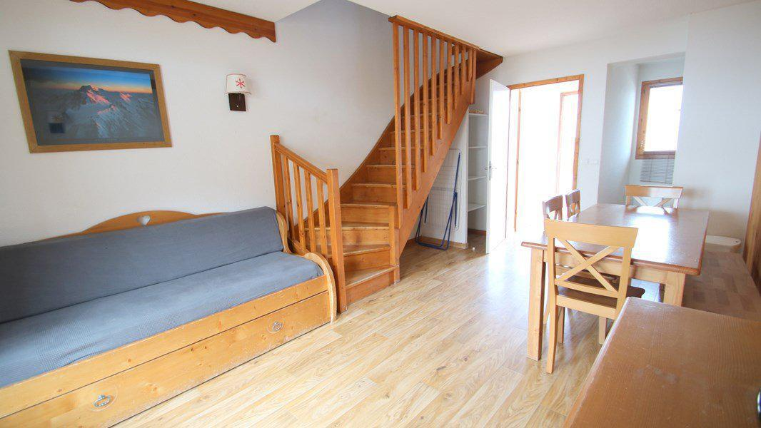 Rent in ski resort 3 room duplex apartment 7 people (CH06) - Résidence Parc aux Etoiles - Puy-Saint-Vincent - Living room