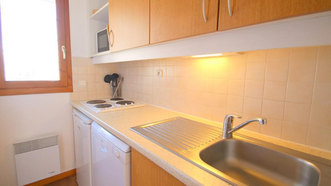 Rent in ski resort 3 room duplex apartment 7 people (CH19) - Résidence Parc aux Etoiles - Puy-Saint-Vincent - Kitchenette