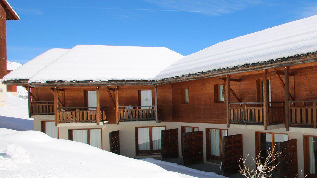 Location au ski Appartement duplex 3 pièces 7 personnes (CH02) - Résidence Parc aux Etoiles - Puy-Saint-Vincent - Extérieur hiver
