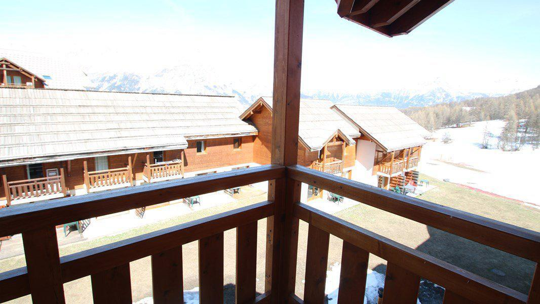 Location au ski Appartement triplex 5 pièces 8 personnes (CH28) - Résidence Parc aux Etoiles - Puy-Saint-Vincent - Extérieur hiver