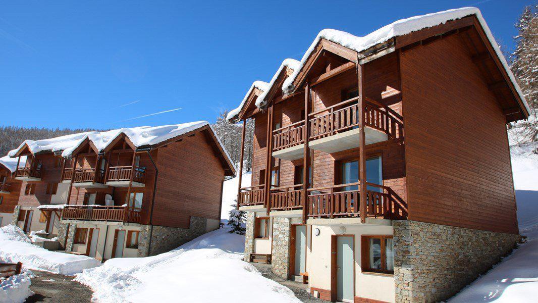 Location au ski Appartement triplex 5 pièces 8 personnes (CH37) - Résidence Parc aux Etoiles - Puy-Saint-Vincent - Extérieur hiver