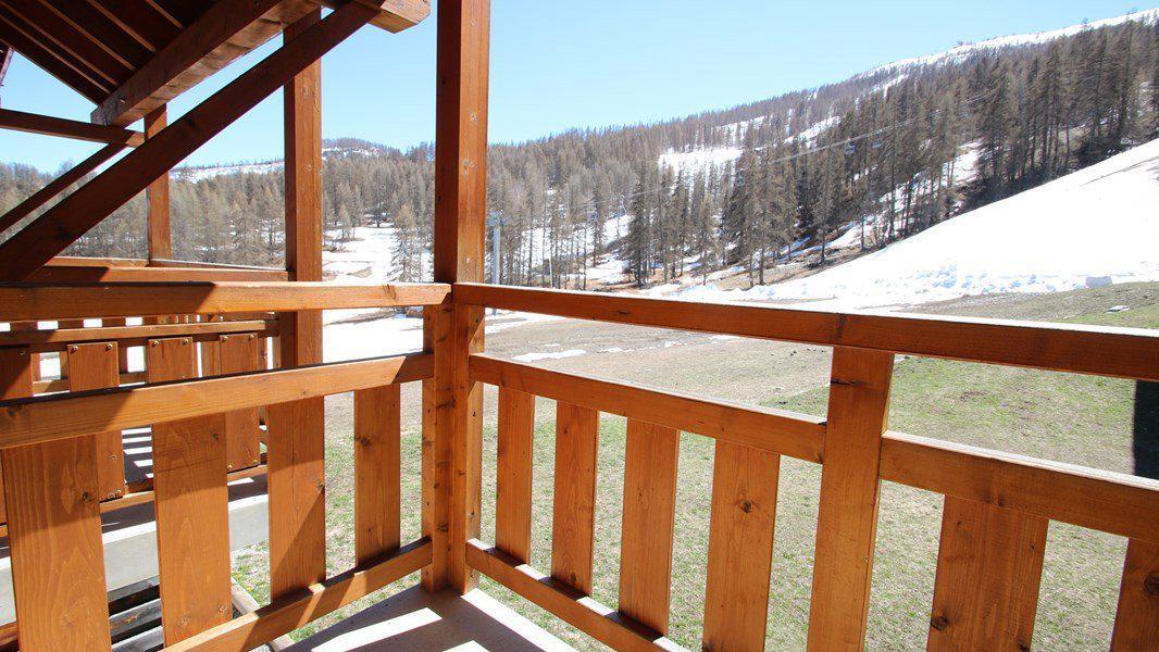 Location au ski Appartement duplex 3 pièces 7 personnes (CH15) - Résidence Parc aux Etoiles - Puy-Saint-Vincent - Extérieur hiver