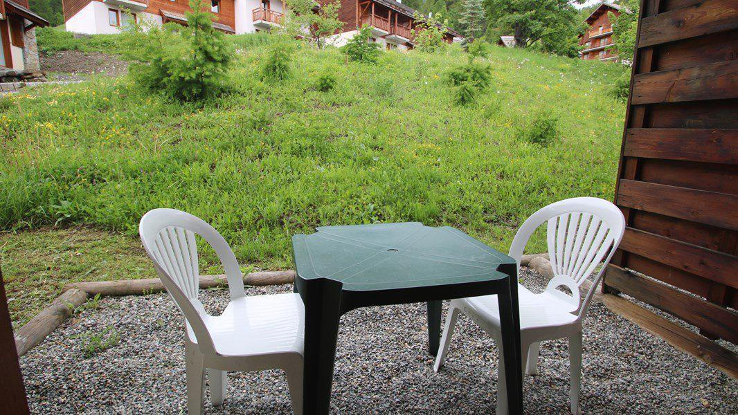 Location au ski Appartement duplex 3 pièces 7 personnes (CH07) - Résidence Parc aux Etoiles - Puy-Saint-Vincent - Extérieur hiver