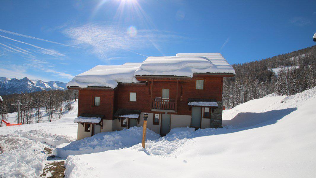 Location au ski Appartement duplex 3 pièces 7 personnes (CH12) - Résidence Parc aux Etoiles - Puy-Saint-Vincent - Extérieur hiver