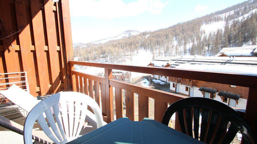 Location au ski Appartement 2 pièces 4 personnes (C408) - Résidence Parc aux Etoiles - Puy-Saint-Vincent - Extérieur hiver