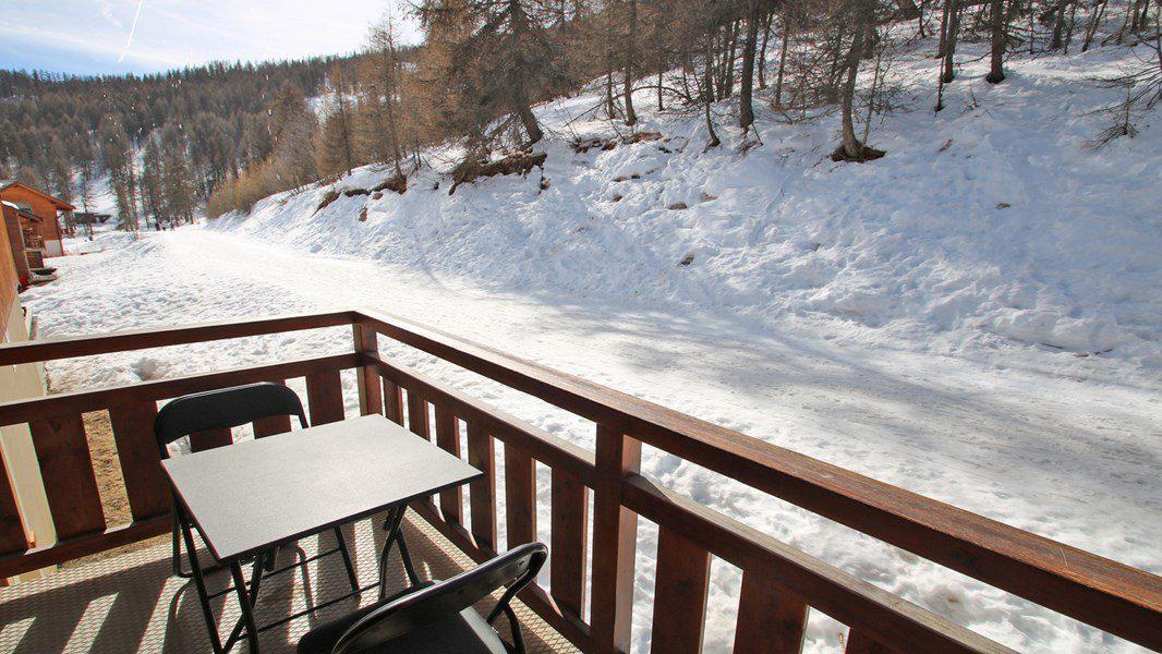Location au ski Appartement 3 pièces 6 personnes (A109) - Résidence Parc aux Etoiles - Puy-Saint-Vincent - Extérieur hiver