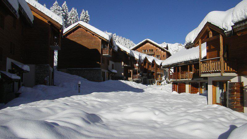Location au ski Appartement 4 pièces 7 personnes (A110) - Résidence Parc aux Etoiles - Puy-Saint-Vincent - Extérieur hiver