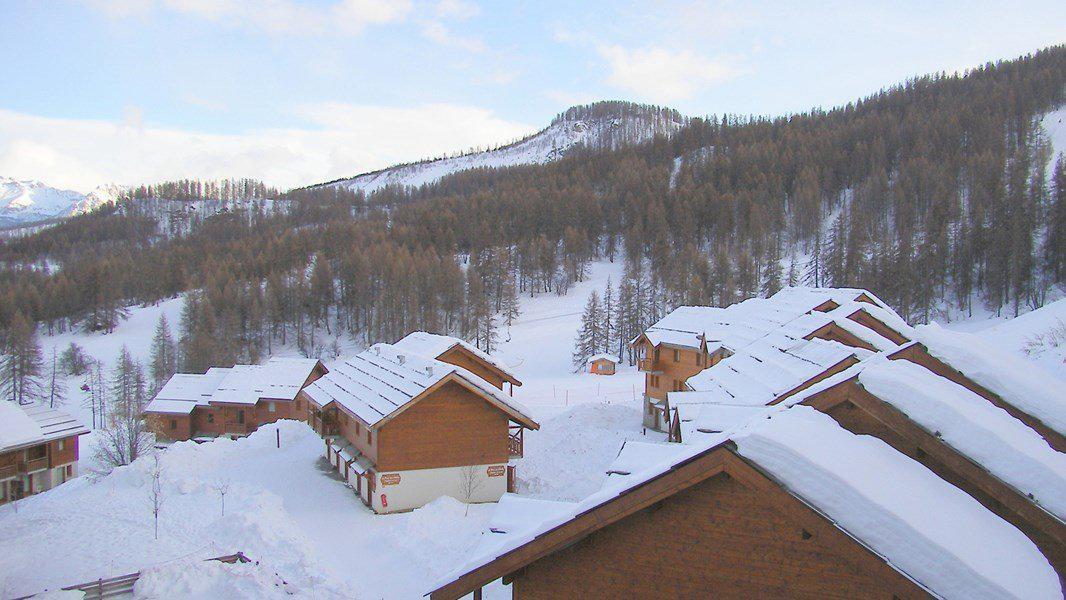 Location au ski Appartement 3 pièces 6 personnes (A010) - Résidence Parc aux Etoiles - Puy-Saint-Vincent - Extérieur hiver