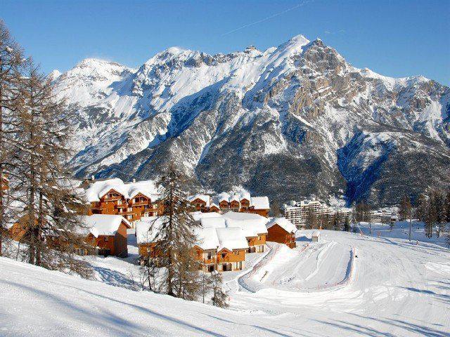 Location au ski Appartement 3 pièces 6 personnes (B101) - Résidence Parc aux Etoiles - Puy-Saint-Vincent - Extérieur hiver