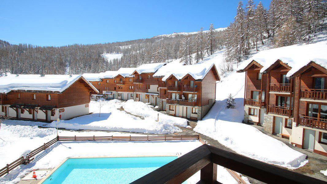Location au ski Appartement 3 pièces 6 personnes (C305) - Résidence Parc aux Etoiles - Puy-Saint-Vincent - Extérieur hiver