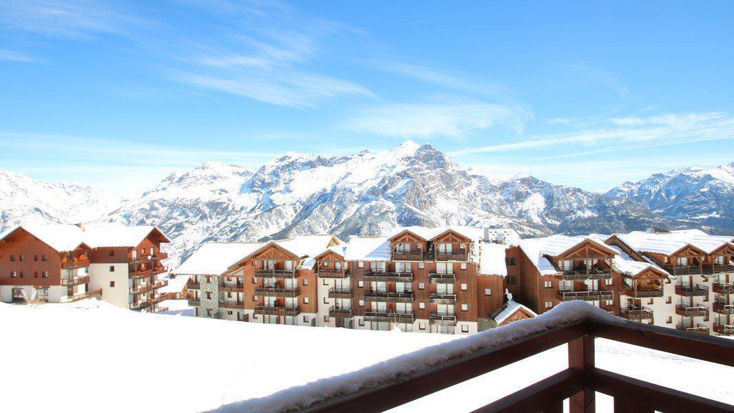 Location au ski Appartement 3 pièces 6 personnes (C213) - Résidence Parc aux Etoiles - Puy-Saint-Vincent - Extérieur hiver