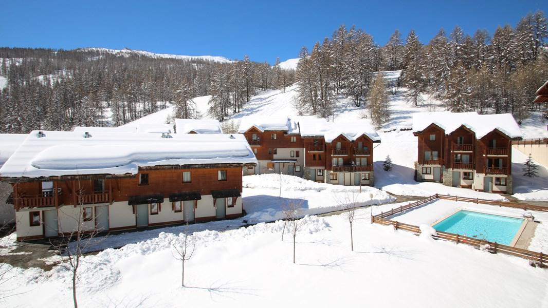 Location au ski Appartement duplex 3 pièces 7 personnes (CH20) - Résidence Parc aux Etoiles - Puy-Saint-Vincent - Extérieur hiver