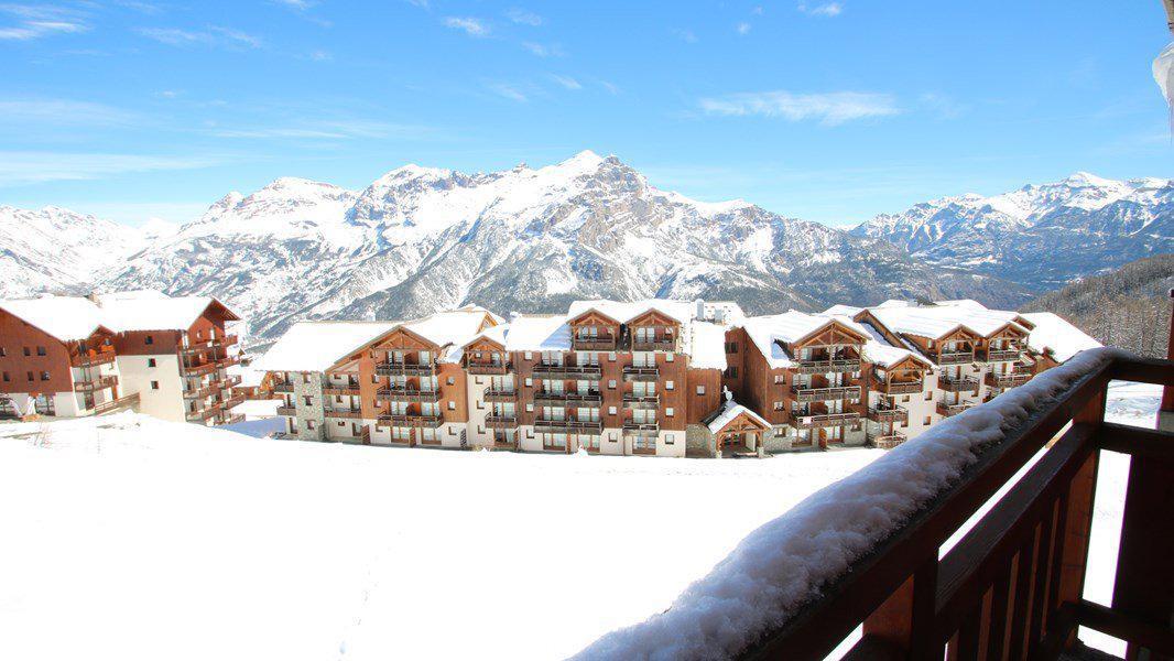 Location au ski Appartement 3 pièces 6 personnes (C313) - Résidence Parc aux Etoiles - Puy-Saint-Vincent - Extérieur hiver