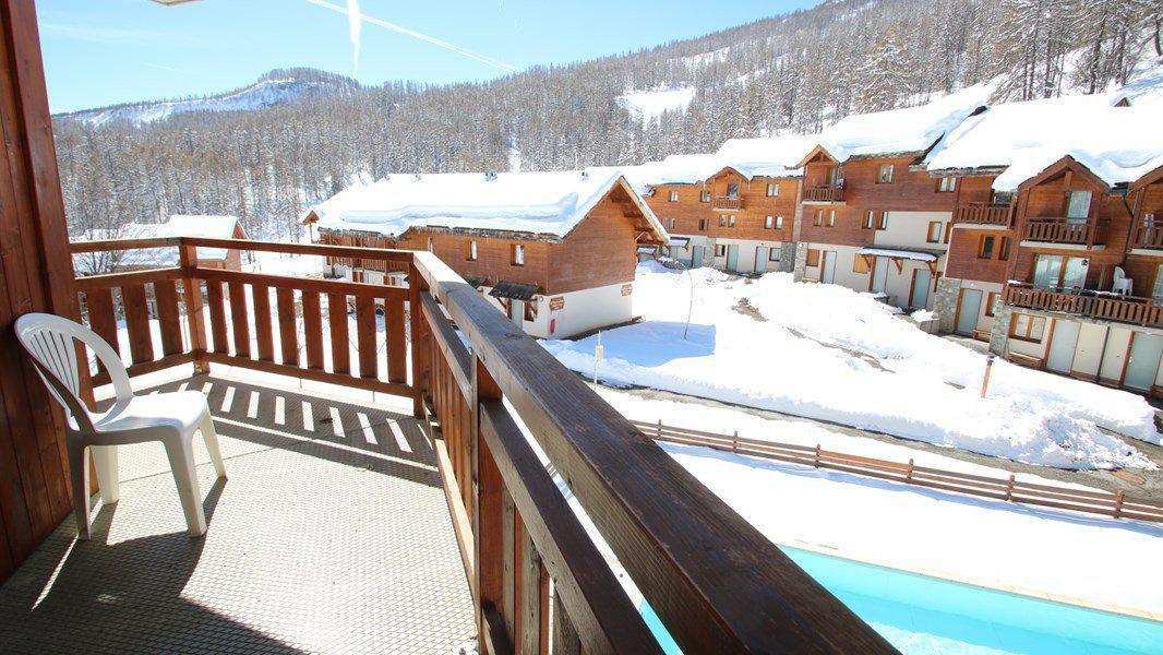 Location au ski Appartement 4 pièces 7 personnes (C306) - Résidence Parc aux Etoiles - Puy-Saint-Vincent - Extérieur hiver